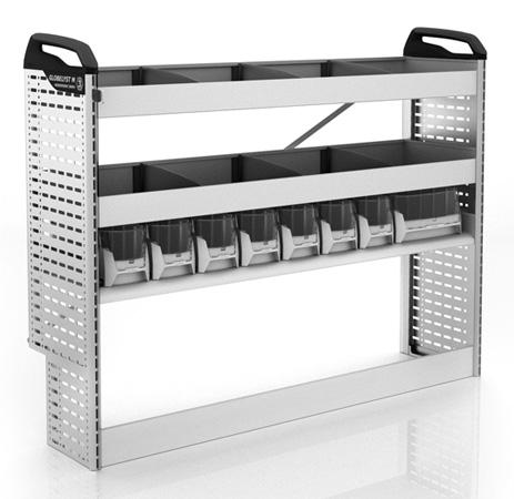 Doblò Cargo Maxi Werkstatteinrichtung linke Fahrzeugseite